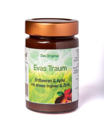online kaufen Evas Traum Marmelade mit Apfel, Erdbeeren mit Ingwer und Zimt
