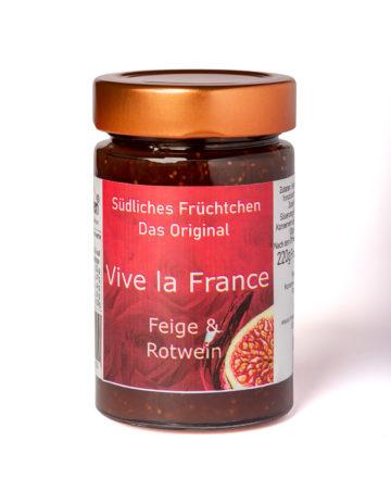 online kaufen Vive la France Marmelade mit Feigen und französischem Rotwein