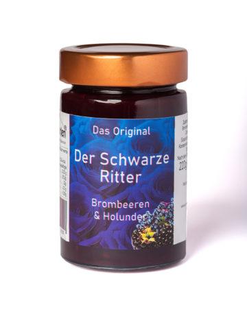 online kaufen Der Schwarze Ritter Marmelade mit Brombeeren und schwarze Johannisbeeren