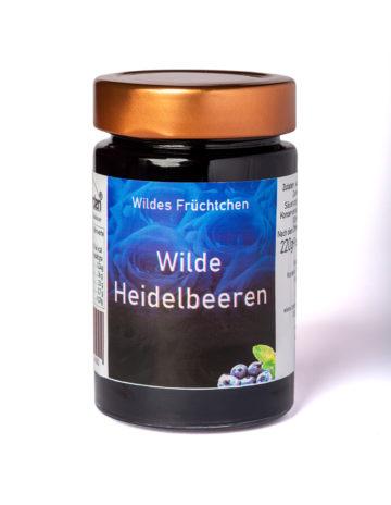 online kaufen Wilde Heidelbeeren Marmelade