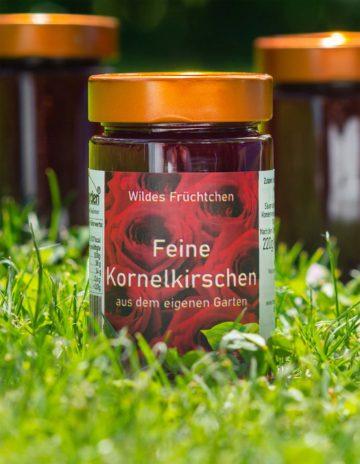 Feine Kornelkirschen Marmelade online kaufen