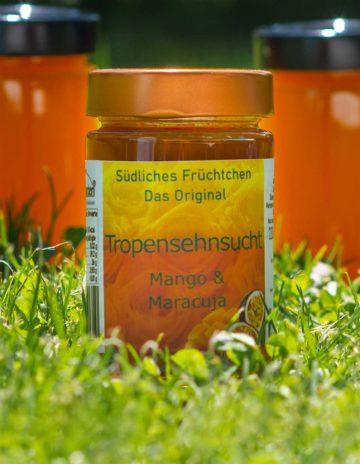 Tropensehnsucht Marmelade mit Mango und Maracuja online kaufen