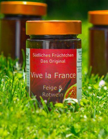 Vive la France Marmelade mit Feigen und französischem Rotwein online kaufen